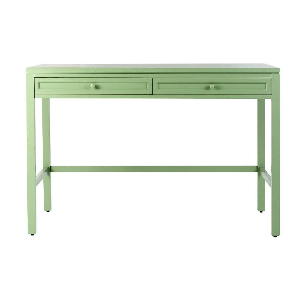 Craft Space 36 In. H 2 Drawer Wood Craft Table In Rhododendron Leaf