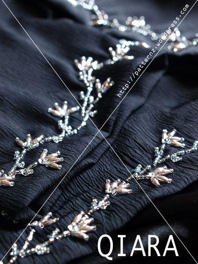 New Design Info Sulaman Manik Qiara: Floral Harga: Lengan: RM45 Kaki Baju: RM100  Info Sulaman Manik iezie: RetroEdge™ Harga: Lengan: RM25 3-tiers edging – Stacy (on jubah) Info Sulaman…
