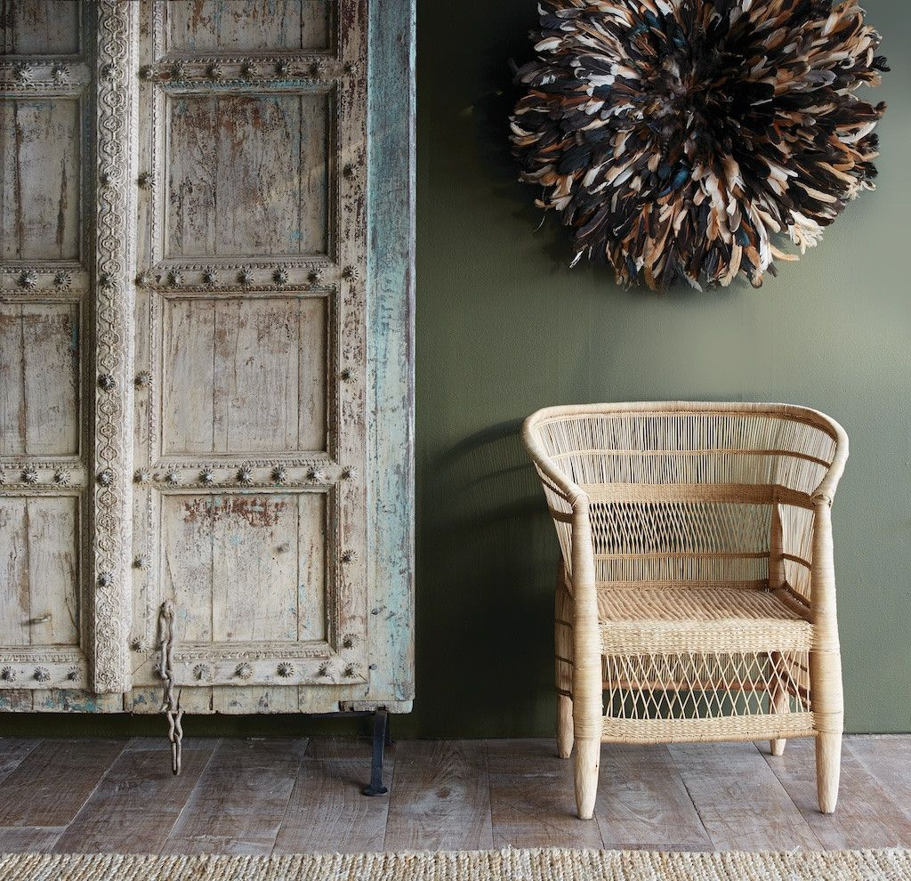 Featuring Africa Malawi Chair Natural Juju Hat Feather  # Muebles Nomad Ibiza