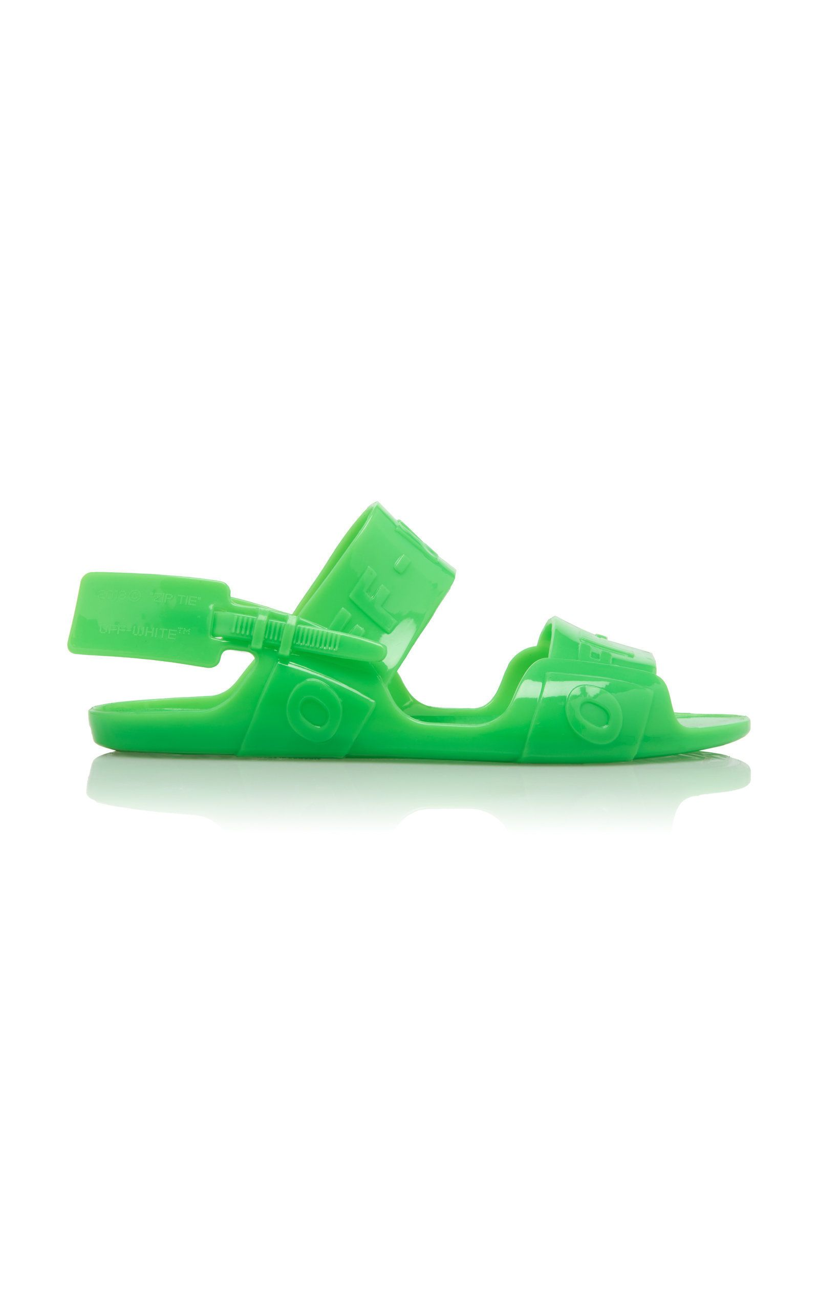 6b190b9af1f9 Zip-Tie Vinyl Sandals by OFF-WHITE C/O VIRGIL ABLOH Now Available on Moda  Operandi