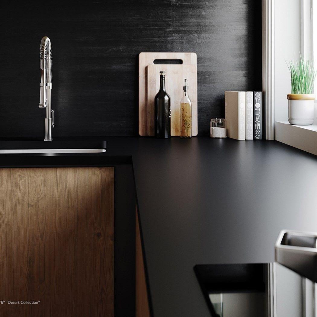 New Cambria Quartz Blackpool Matte Kitchen International Granite And Stone Tampa C Black Quartz Countertops Quartz Countertops Kitchen Remodel Countertops