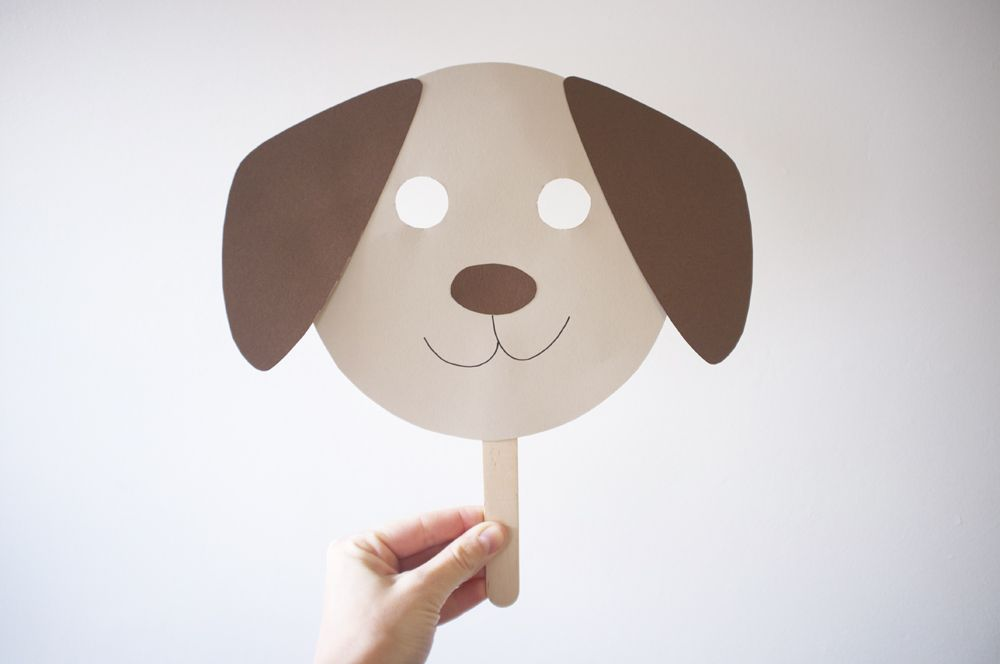 Kids\' Dog Mask Pattern | party! party! | Pinterest | Dog mask ...