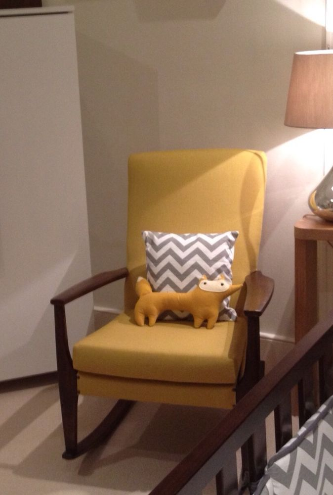 Pleasing Vintage Parker Knoll Rocking Chair In 2019 Upholstered Onthecornerstone Fun Painted Chair Ideas Images Onthecornerstoneorg