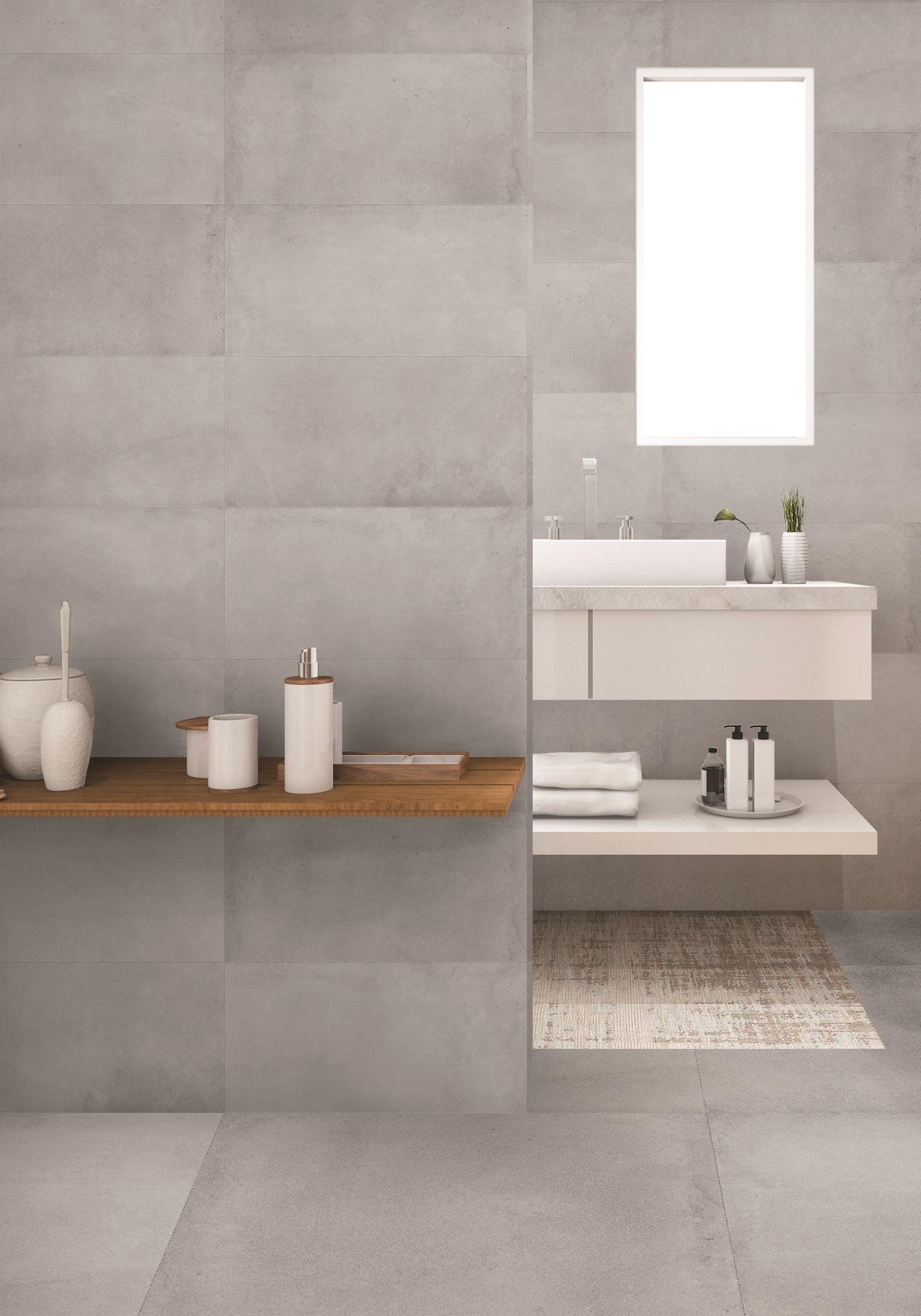 Primecollection Uniplus Smoke Bodenfliese Rektifiziert 60x60 Cm Badezimmer Badezimmer Innenausstattung Und Badezimmerideen