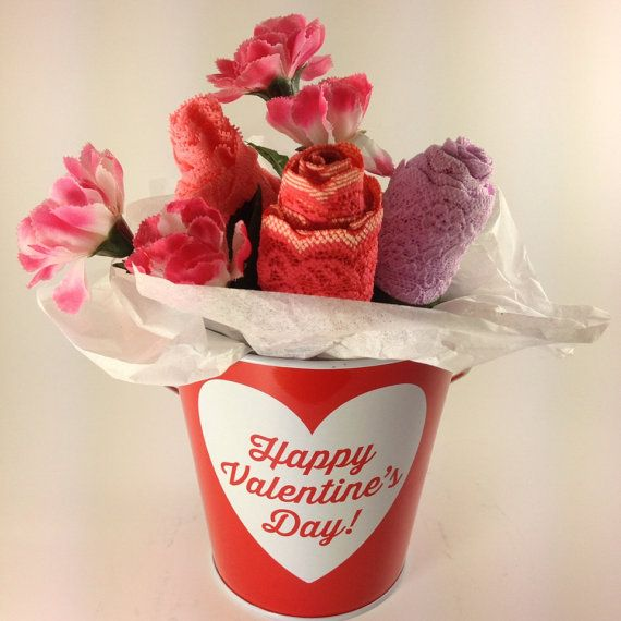 romantic valentine's day gift, lingerie bouquet, lace panties, Ideas