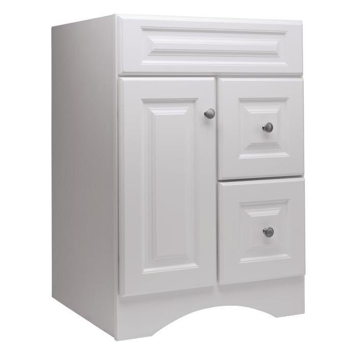 allen roth 20d vsdb24 northrup 24 in white traditional on lowes vanity id=94100