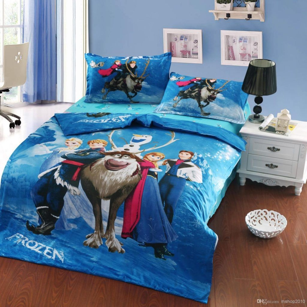 Frozen Bedding Sets Elsa Anna Singledoublequeen Kids Toddler