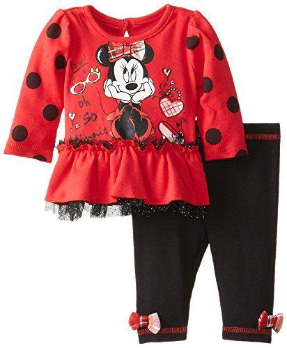 Disney Baby Baby-Girls Newborn Minnie Mouse Peplum Long Sleeve Top with Leggings, Red, New Born Disney http://www.amazon.com/dp/B00K8U6B2S/ref=cm_sw_r_pi_dp_d8iuvb17VNZZC