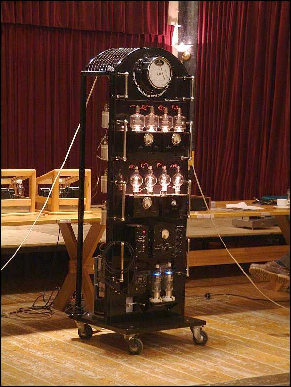 High Voltage Tube Amplifier With Images Vacuum Tube Vintage