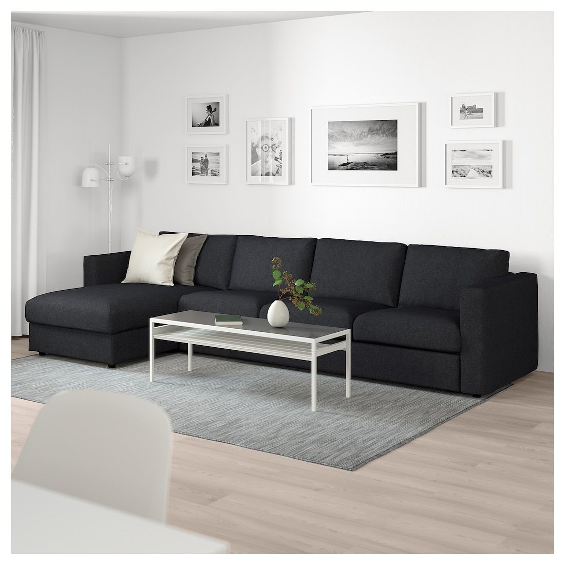 Ikea Us Furniture And Home Furnishings Living Room Designs Black Sectional Living Room Leather Sofa Living Room