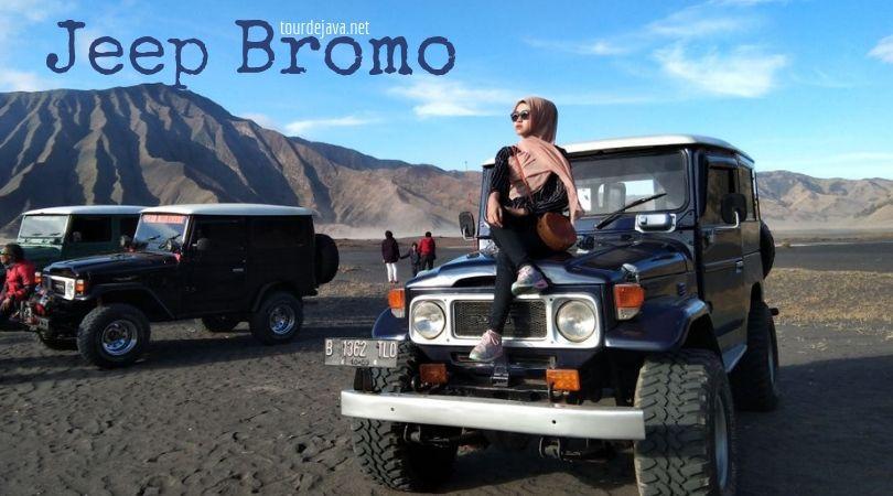 Jeep Bromo Kita Akan Menggunakan Kendaraan Hard Top Double