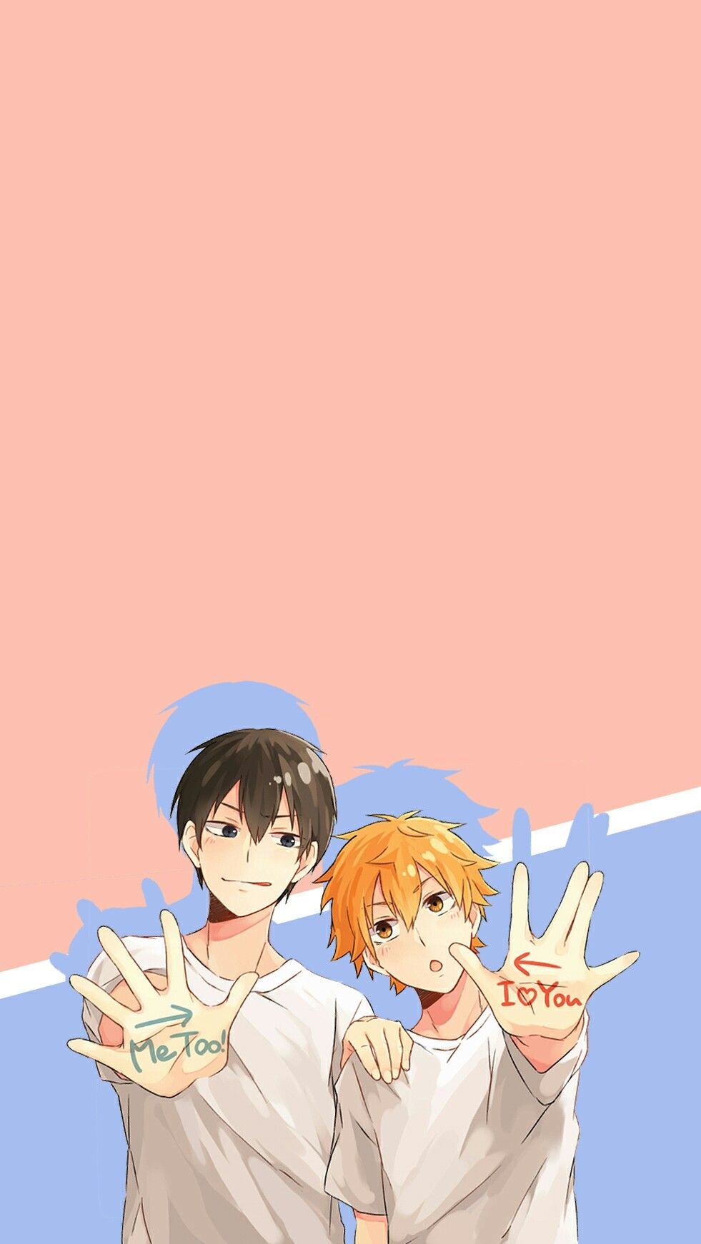 haikyuu kagehina wallpaper Haikyuu wallpaper, Haikyuu anime