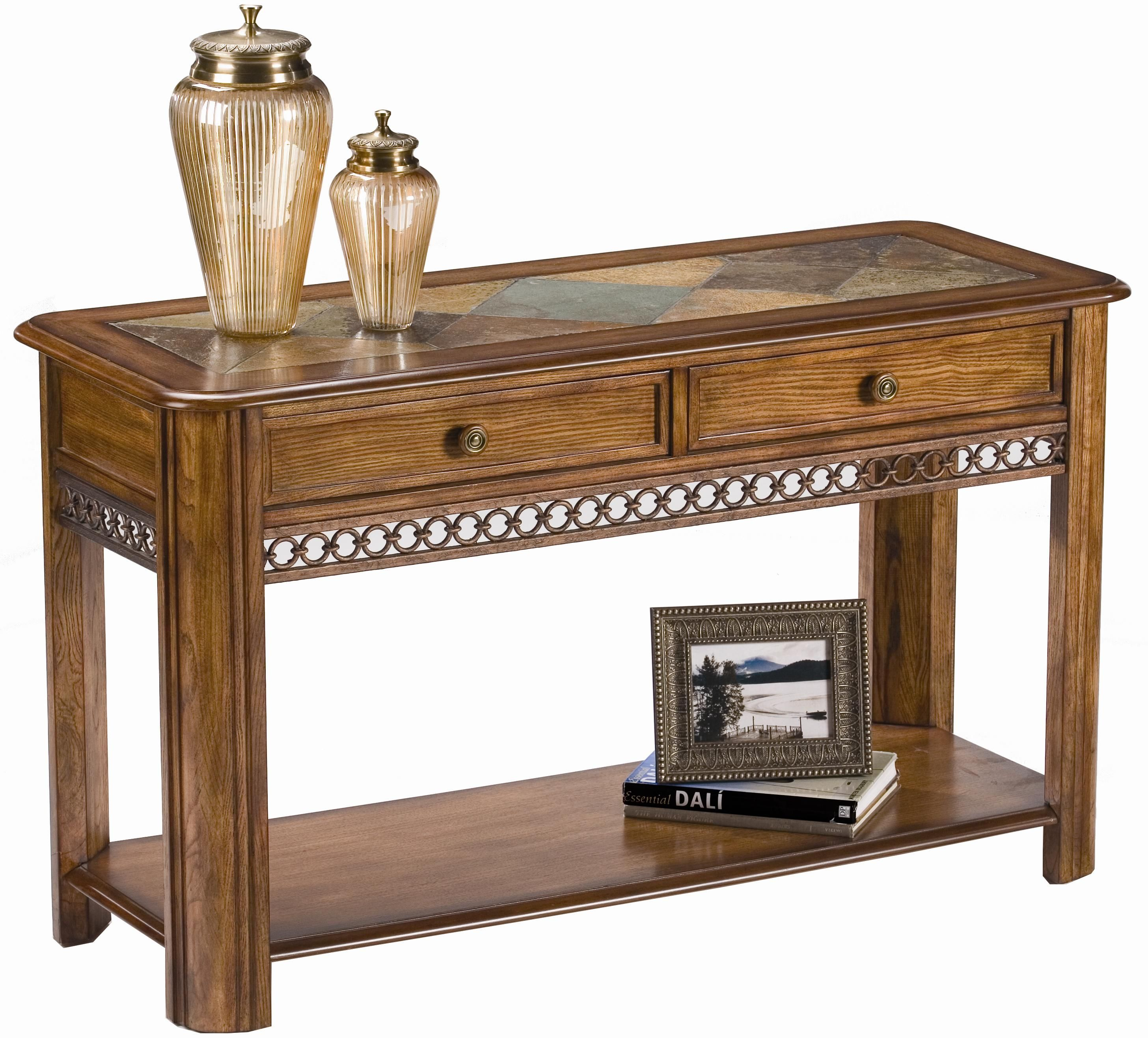 Chaise Sofa Rectangular Sofa Table by Magnussen Home