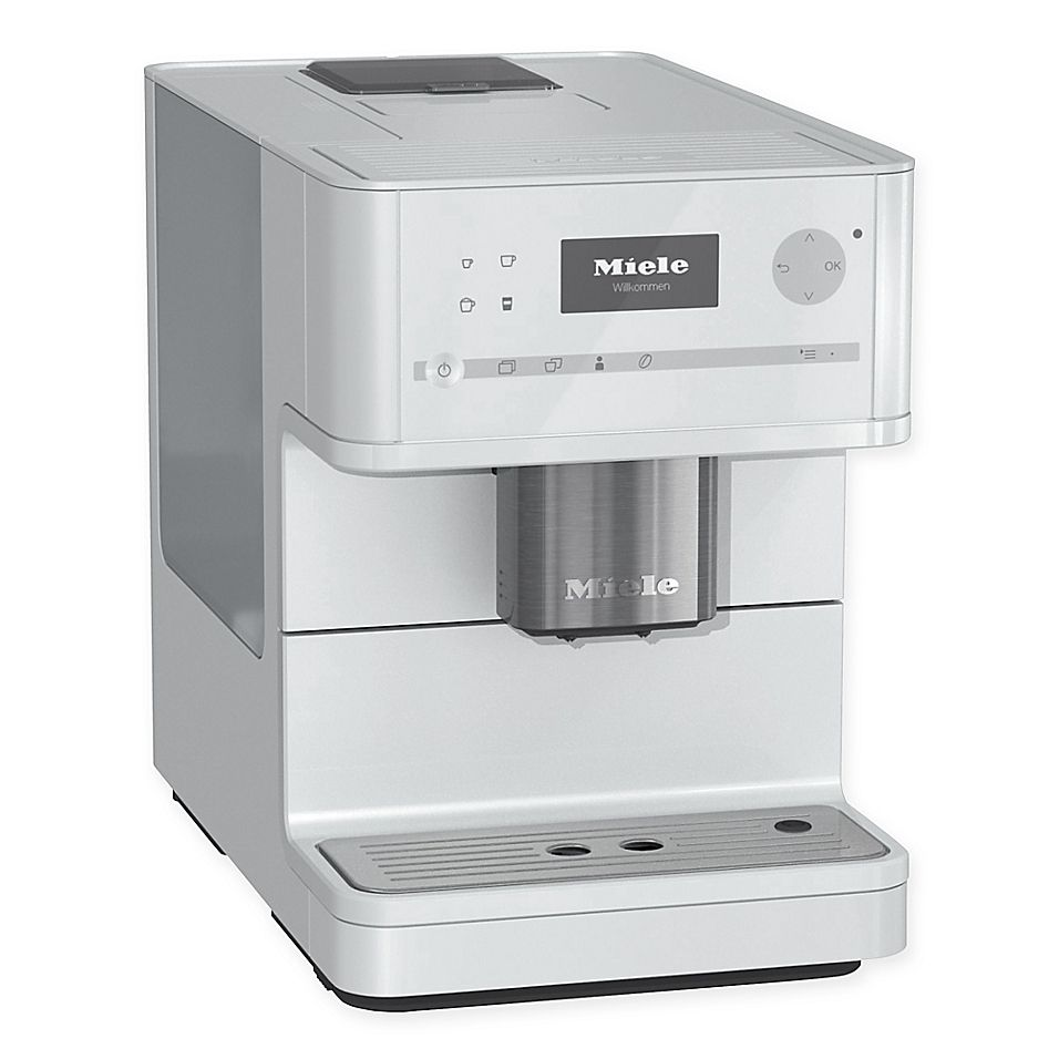 Miele Cm6150 Countertop Coffee System White Coffee Machine