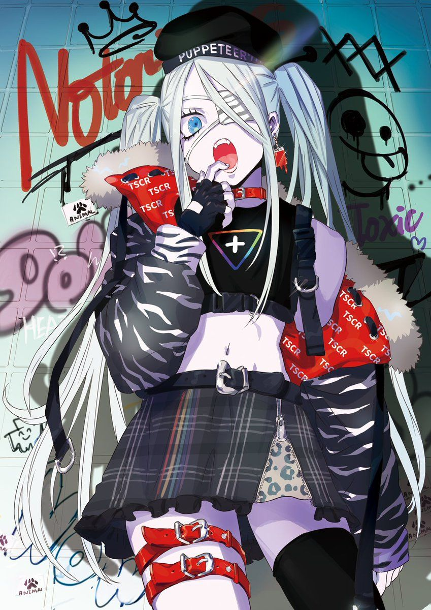 Pin On Anime Art Girl