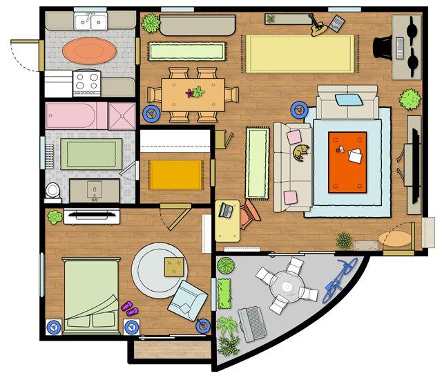 Floorplanning   Open concept, Sky, House plans