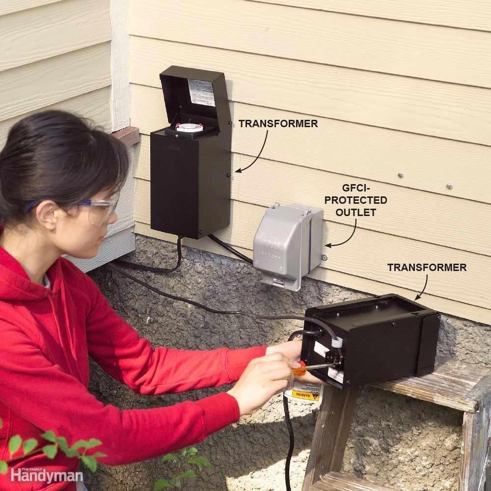 Go Green With Solar Garden Lights Outdoor Lighting Transformer Low Voltage Outdoor Lighting Diy Outdoor Lighting