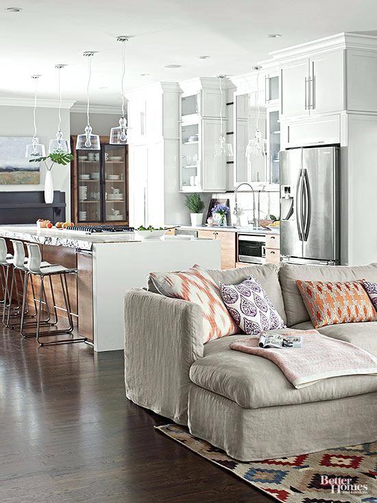 Architecture small open floor plan ideas form a perfect - Open floor plan furniture layout ideas ...