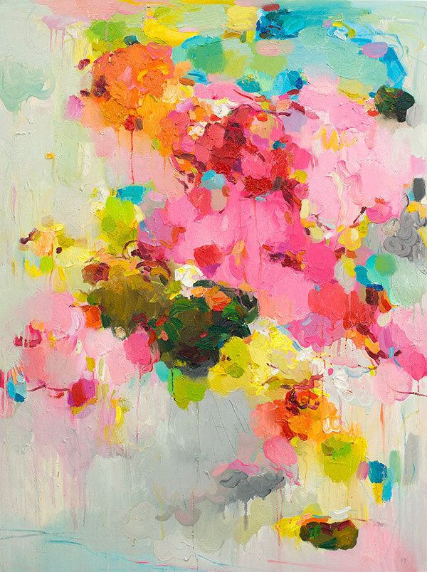 Create an Abstract Painting | Pastel shades