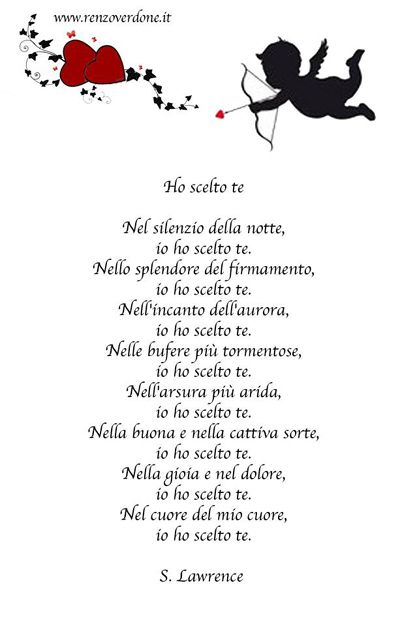 Poesie Per Anniversario Matrimonio.Poesia Di S Lawrence Libretto Matrimonio Primo Anniversario Di