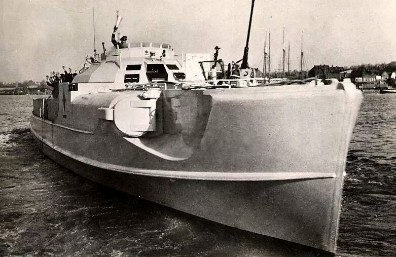 Billedresultat for german Type 1939/40 fast attack boat