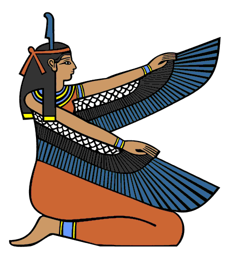 Ma'at - was the ancient Egyptian concept of truth, balance, order