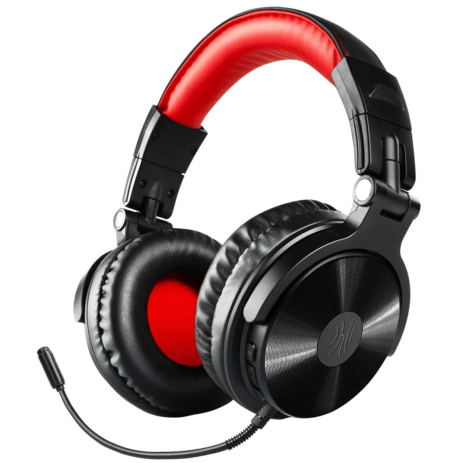 Bluetooth Over Ear Headphones Oneodio Wired Gaming Stereo Headsets With Detachable Mic For Ps4 Gaming Headset Gaming Headphones Bluetooth Headphones Wireless