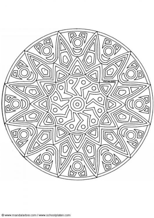 mandala | mandala - Zentangle | Pinterest | Mandalas, Pintar y Colorear