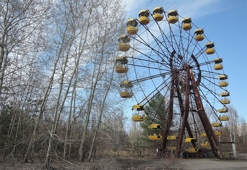 Uk Drones Detect Unexpected Hotspots In Chernobyl Red