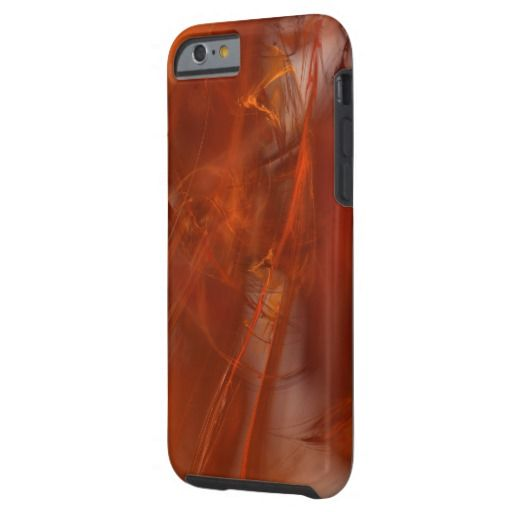 Rust Realm Fractal Tough iPhone 6 Case