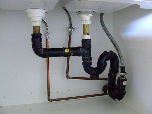 Totd Visually Inspect Plumbing Pipes Annually Look For Condensation Around The Pipes Or An Ob Install Bathroom Sink Bathroom Sink Drain Kitchen Sink Plumbing