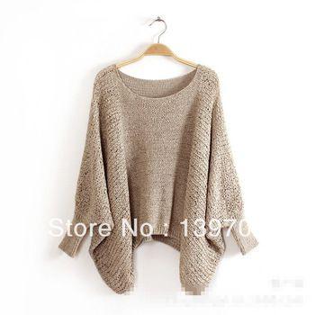 nieuwe mode 2014 herfst zomer lange vleermuis mouw uitgehold trui breien trui rok pak vrouwen jurk candy kleur 6 kleuren