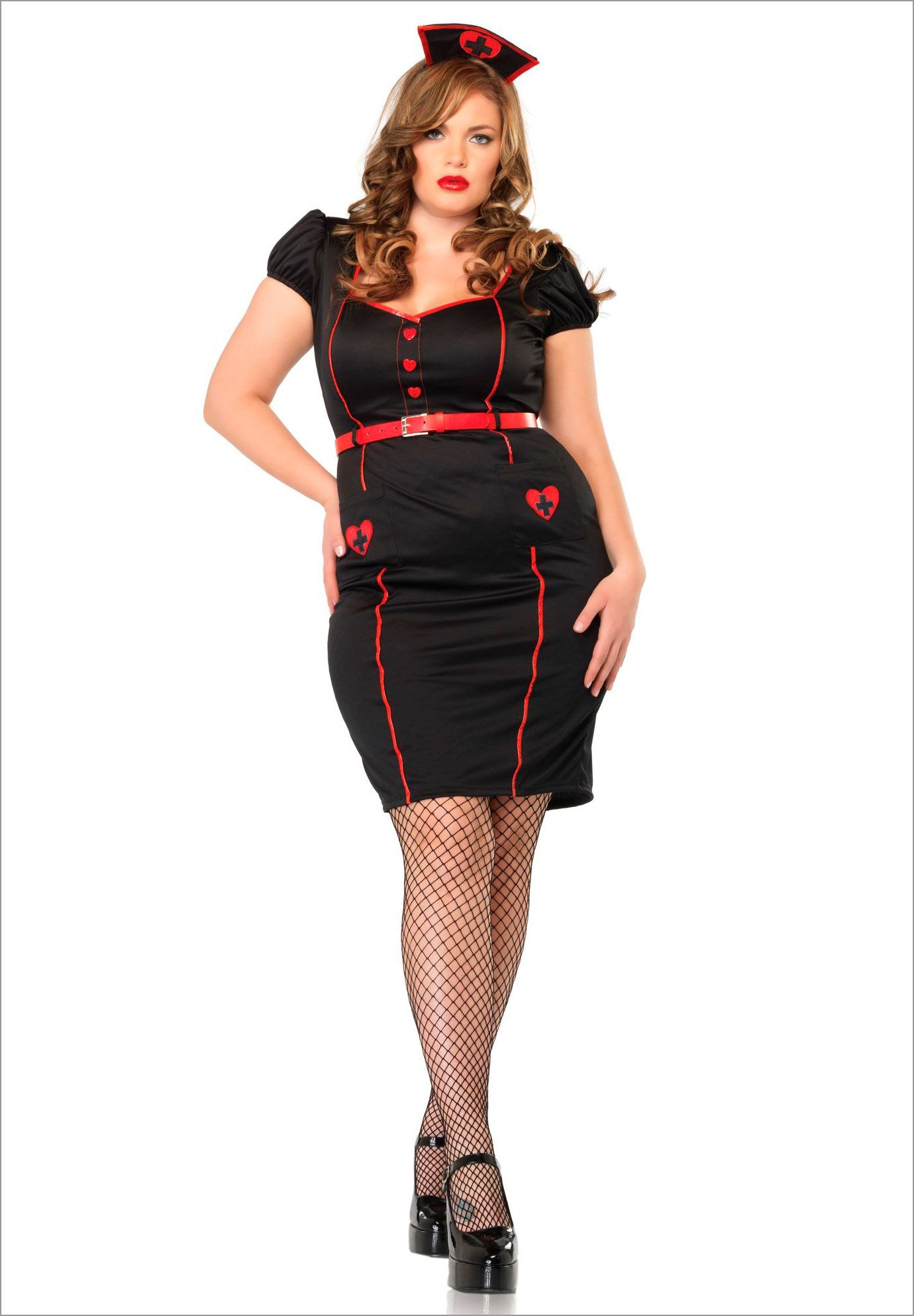 Plus Size Nurse Knockout 44.99 Plus size costume, Plus