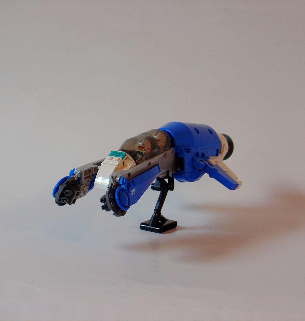 [Sci-fi]Gannet-class interceptor | by Sydag