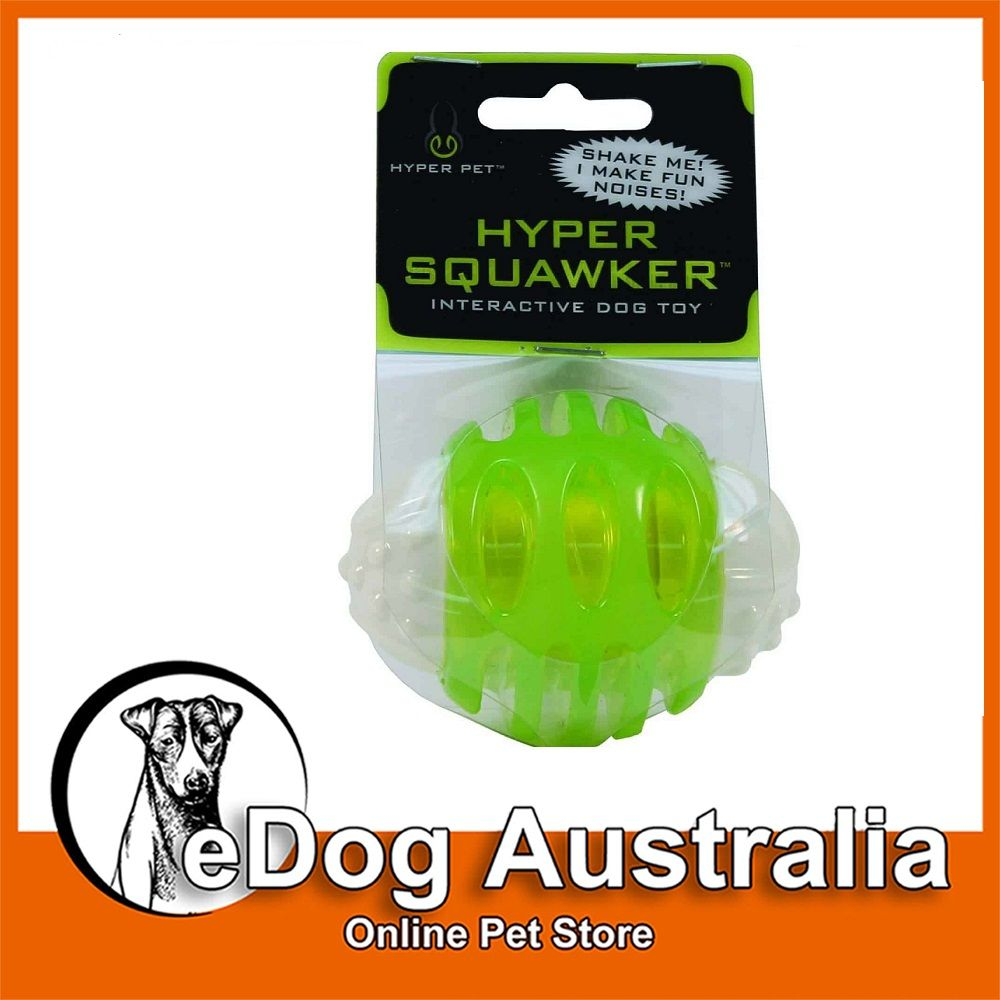 Hyper Pet Hyper Squawker Interactive Dog Toy Is The Chew Toy Sure