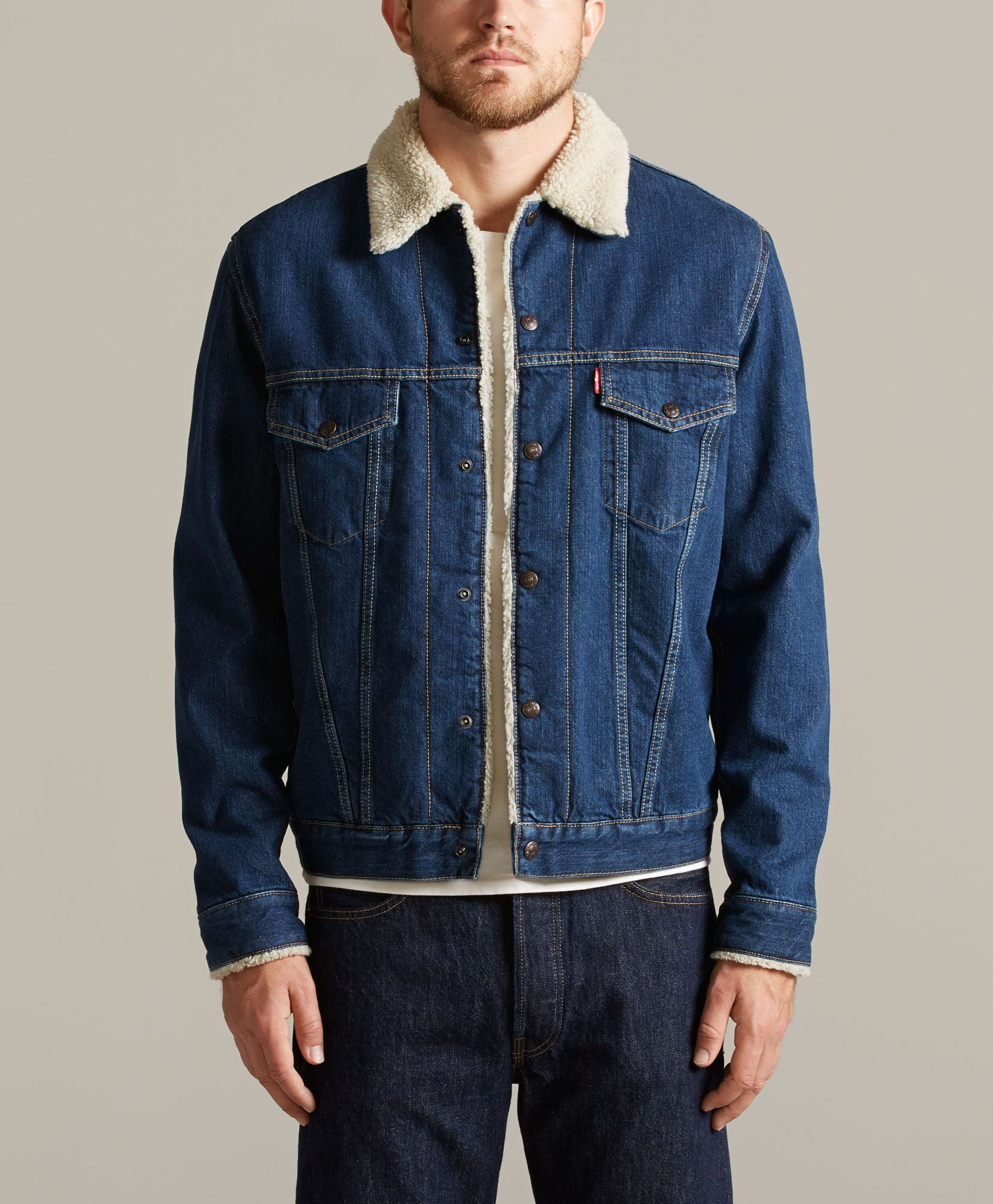 [ ! ] Men's Levi's Sherpa Lined Cloth Trucker Jacket  | 7 Ways On How To Prepare For Men's Levi's Sherpa Lined Cloth Trucker Jacket