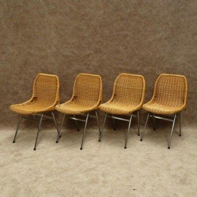 Located using retrostart.com > Dinner Chair by Dirk van Sliedregt for Rohé Noordwolde