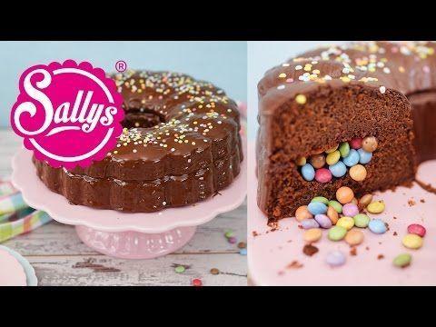Photo of Schokoladenkuchen mit Süßigkeitenfach / Geburtstagskuchen – Sallys Blog,  #Blog #Celebra…
