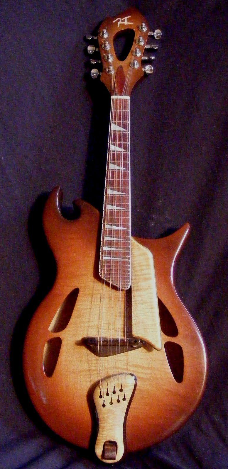 Roy Toepper - RT Custom Guitars- Mandolin