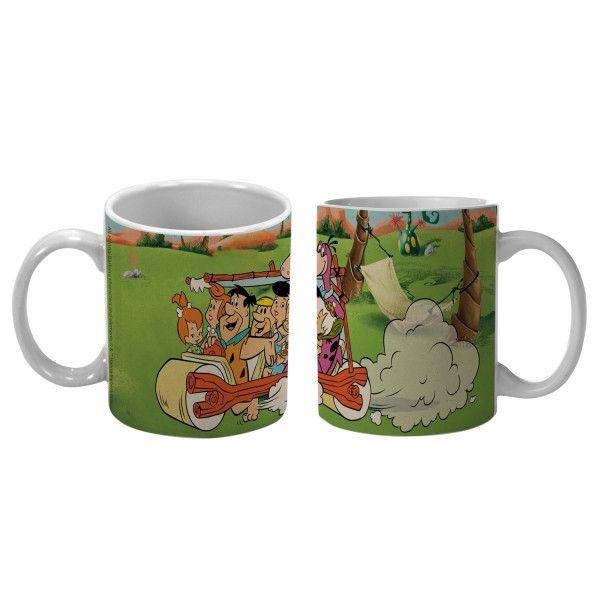 Caneca Hanna Barbera (Flinstones & carro)