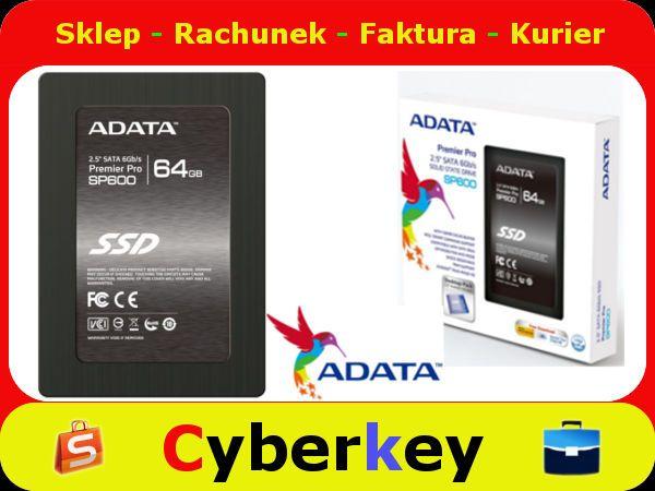 Ssd 64gb Premier Sp600 2 5 Sata3 Jmf661 Adata 5312932024 Oficjalne Archiwum Allegro Ssd 64gb 32gb