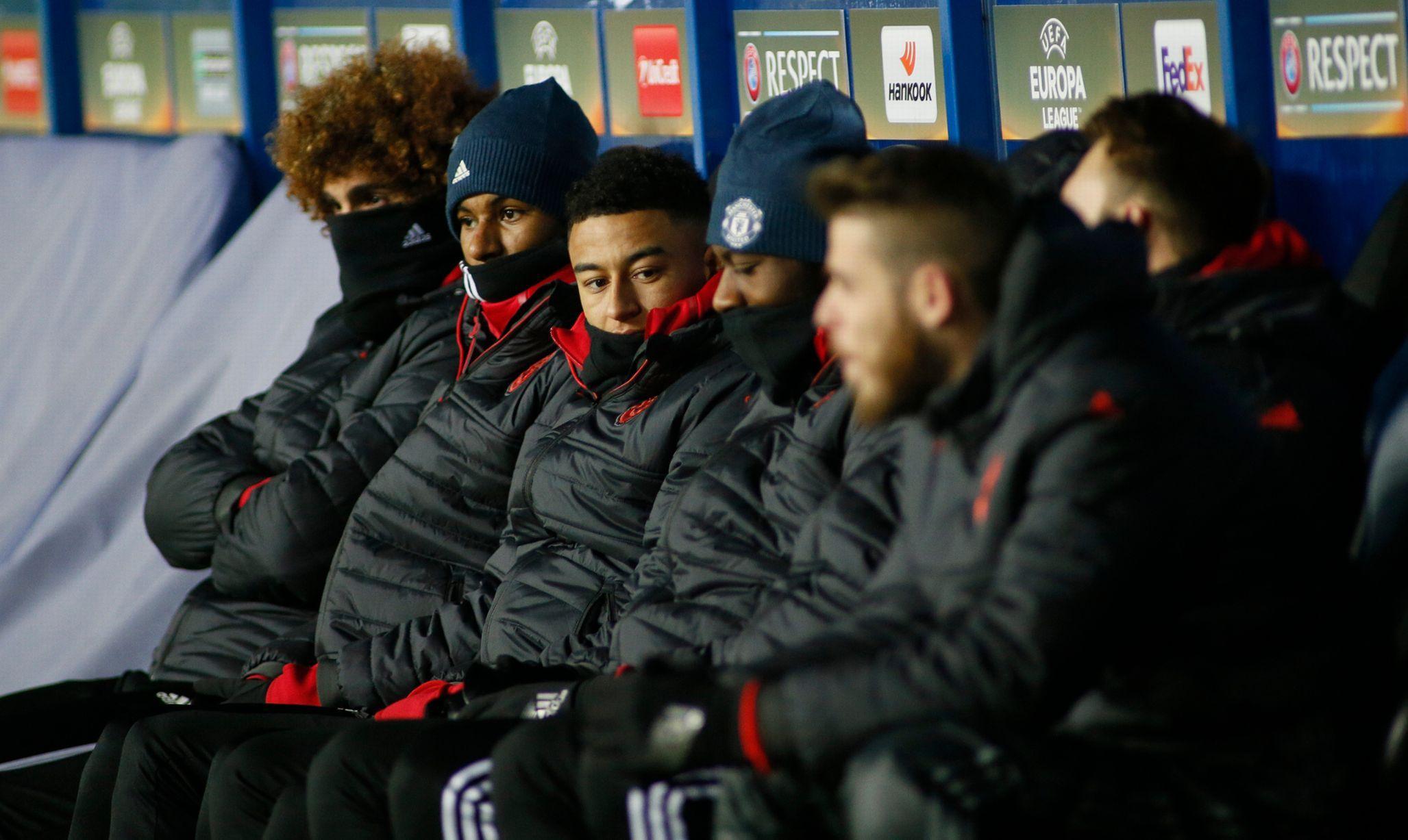 Prosedí Lingaard znovu zápasy United na lavičce či tribuně?