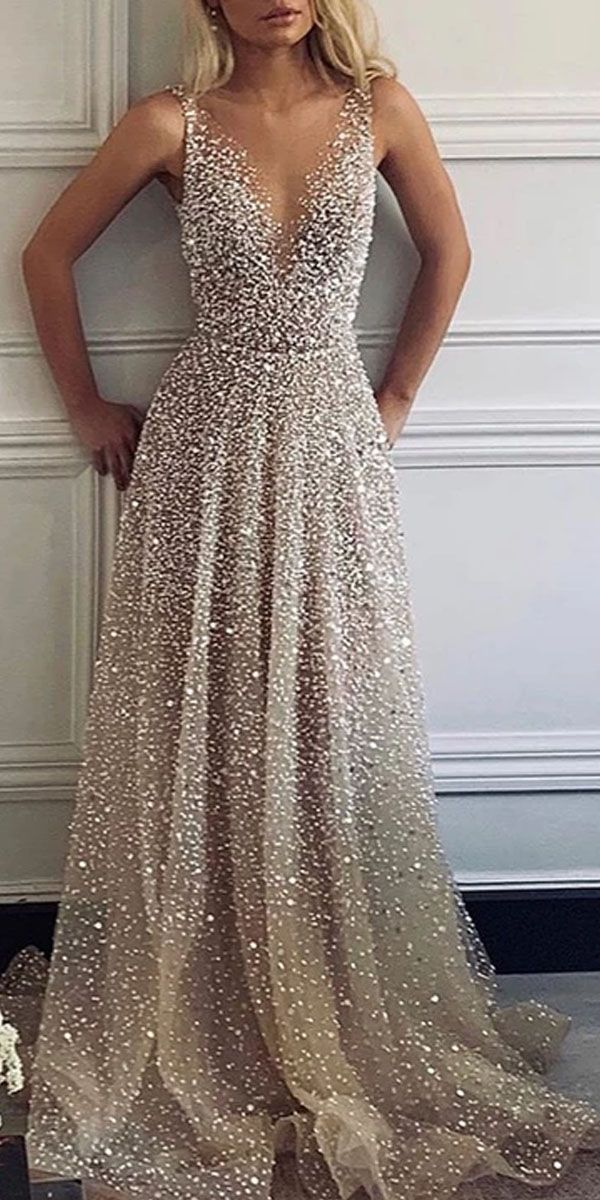 evening dresses for weddings