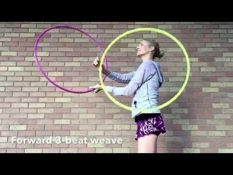 Atomic 3 beat weave twin hooping tutorial with jasmine kienne.
