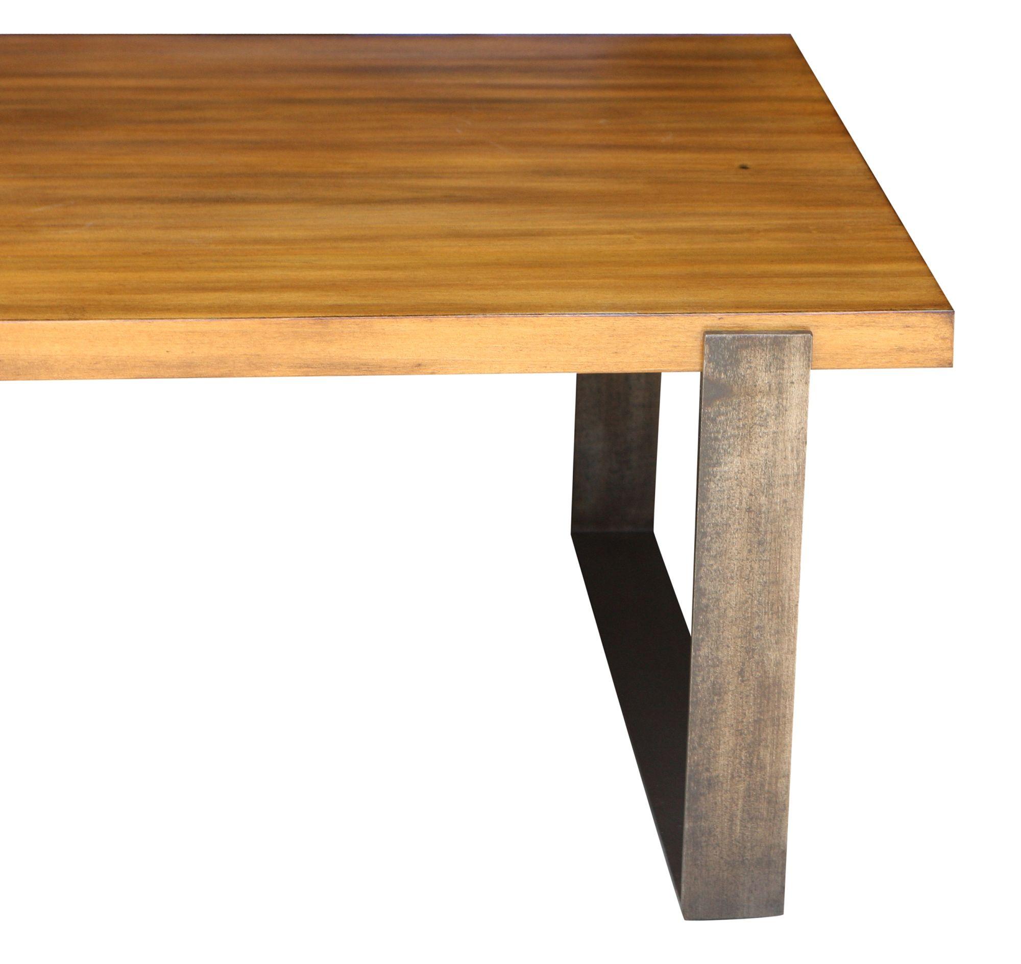 Acacia Modern Table Chairs Black Metal Trim Legs   Google Search