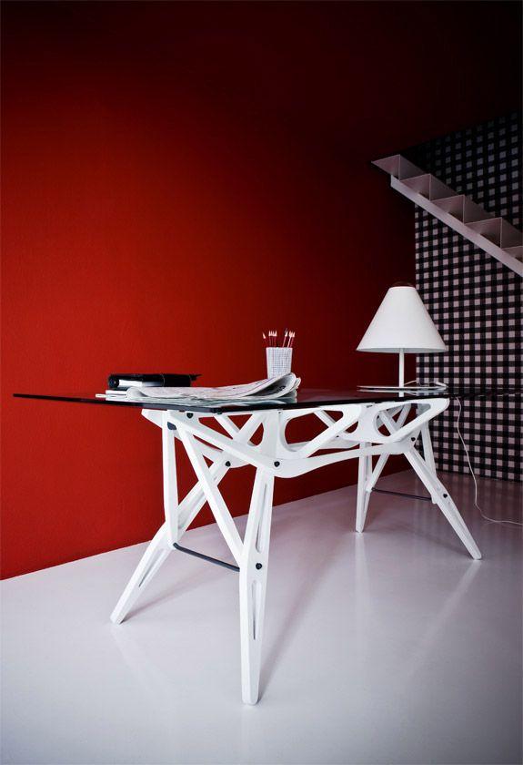 Tavolo Reale di Zanotta Design - Carlo Mollino Anno - 1946 ...
