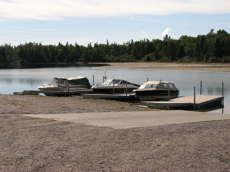 Docks at the Terrace Bay Beach