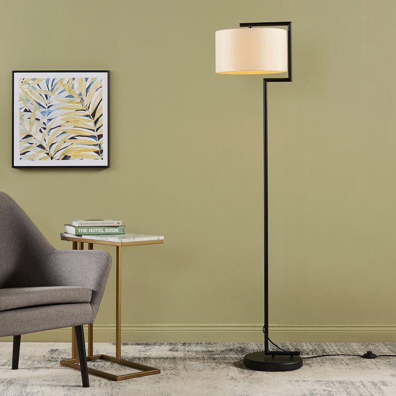 Versanora Sedona 63 Swing Arm Floor Lamp Wayfair Swing Arm Floor Lamp Traditional Floor Lamps Column Floor Lamp