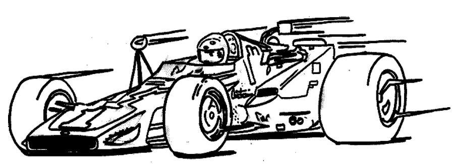 Racing Coloring Page Race Car car coloring pages Cars