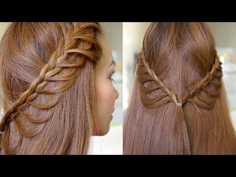 Summer Cascading Braids Hair Tutorial
